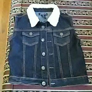 LIMITED TOO Jean Vest for Girls